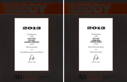ADDY2013Plaque