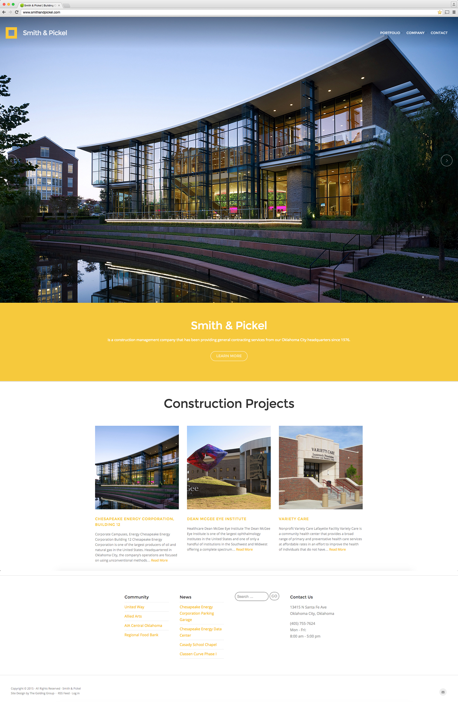 New client announcement smith pickel construction the for Smith house construction